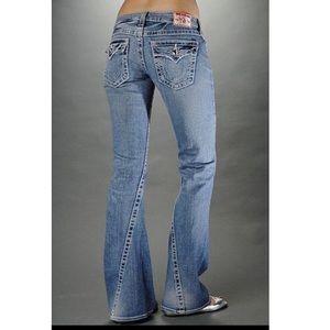True Religion Disco Joey Big T Jeans Size 28